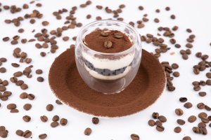Dessert - Tiramisu with coffee jelly