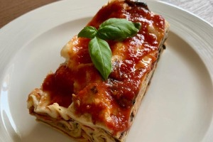Pasta - Grilled Mediterranean Vegetable Lasagne (v)