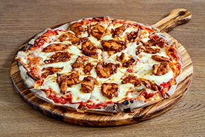 Wood-fire Pizza - Chicken Barbeque